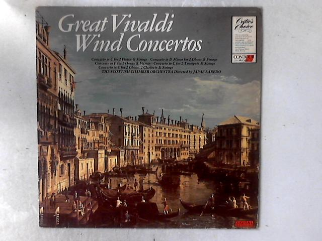 Great Vivaldi Wind Concertos LP By Scottish Chamber Orchestra