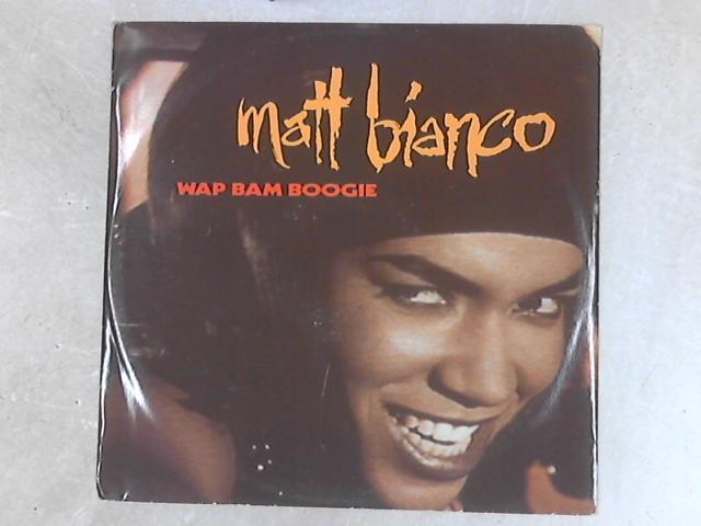 Wap Bam Boogie 12in Single By Matt Bianco