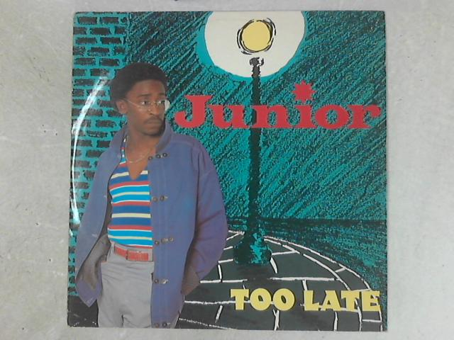 Too Late 12in Single By Junior