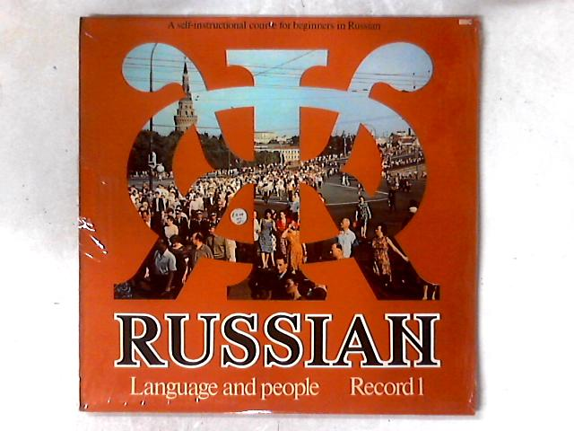 Russian Language And People Record 2 LP GATEFOLD by No Artist