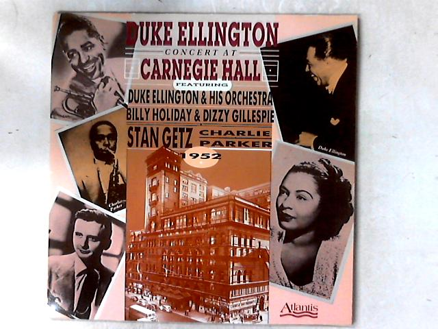 Concert At Carnegie Hall 2xLP GATEFOLD by Duke Ellington