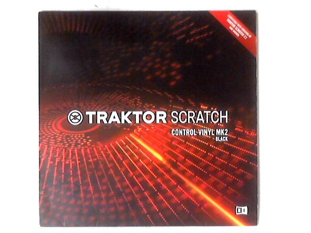 Traktor Scratch Control Vinyl MK2 Black 12in by No Artist