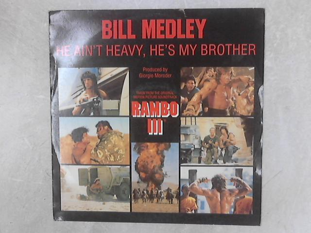 He Ain't Heavy, He's My Brother / The Bridge (Instrumental Version) 12in Single By Bill Medley
