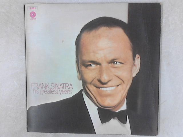 His Greatest Years 3xLP By Frank Sinatra