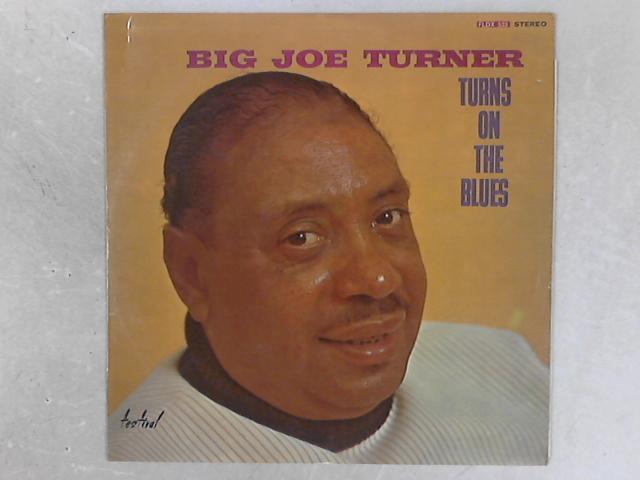 Turns On The Blues LP by Big Joe Turner