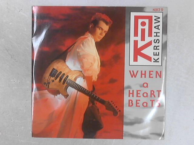 When A Heart Beats 12in Single By Nik Kershaw