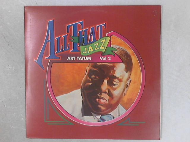 All That Jazz Vol 2 2xLP By Art Tatum