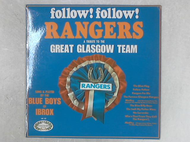 Follow! Follow! Rangers LP by The Blue Boys Of Ibrox