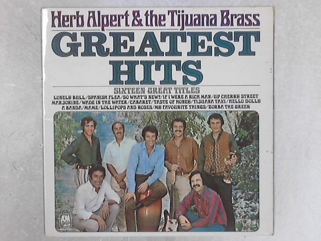 Greatest Hits LP by Herb Alpert & The Tijuana Brass