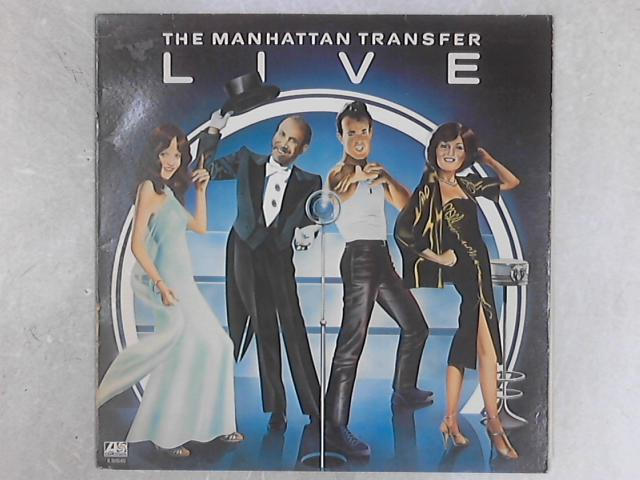 Live LP by The Manhattan Transfer