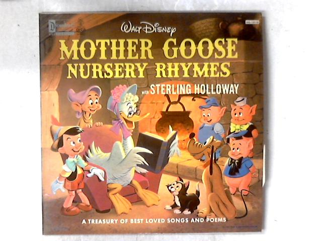 Walt Disney Presents Mother Goose Nursery Rhymes With Sterling Holloway LP By Sterling Holloway