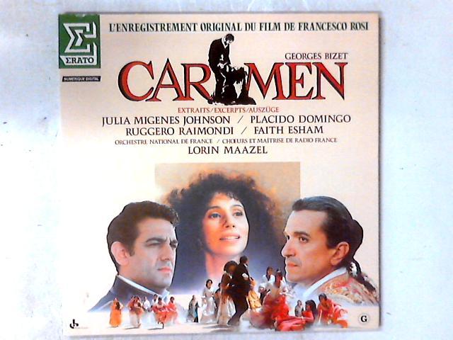 Carmen (Extraits) LP By Georges Bizet