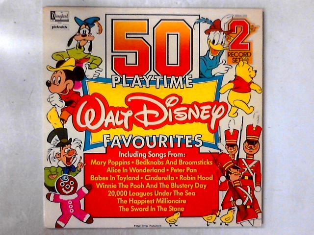 50 Playtime Walt Disney Favourites 2xLP COMP GATEFOLD by Various