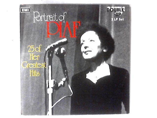 Portrait Of Piaf (25 Of Her Greatest Hits) 2xLP COMP by Edith Piaf
