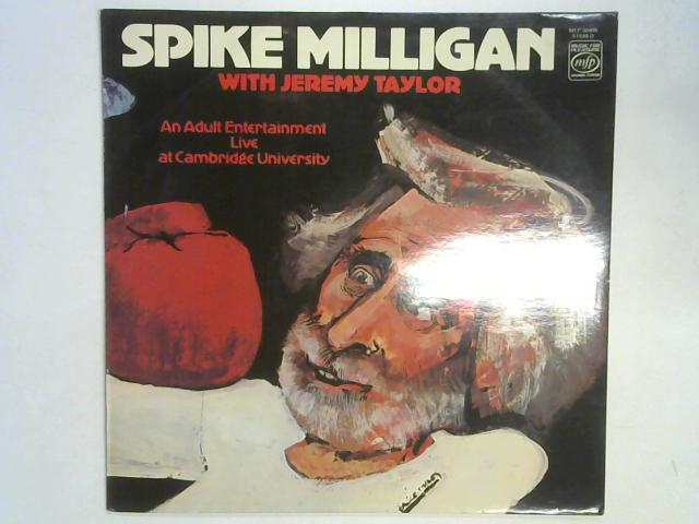 An Adult Entertainment Live At Cambridge University LP by Spike Milligan