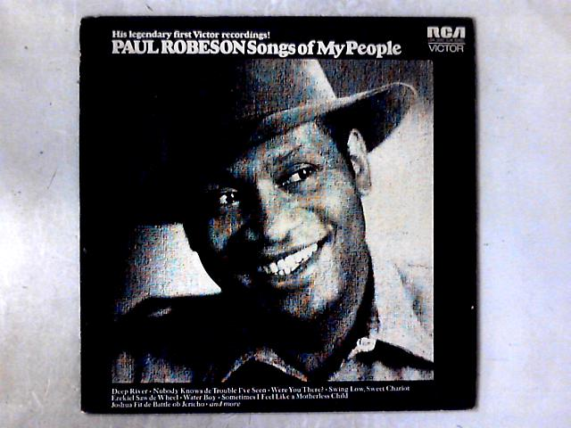 Songs Of My People LP COMP by Paul Robeson
