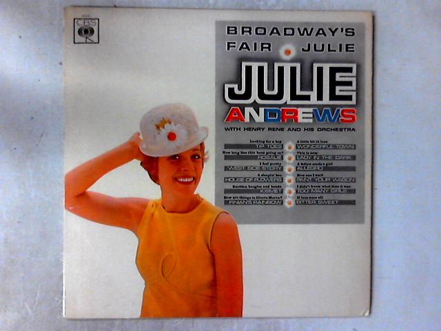 Broadway's Fair Julie LP by Julie Andrews