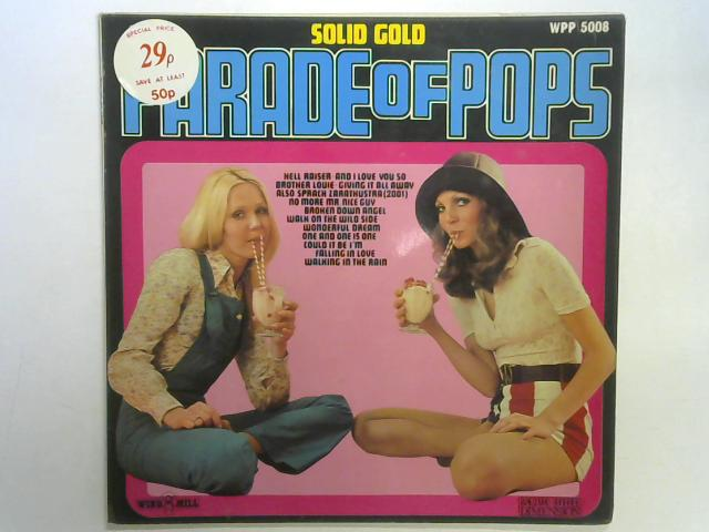 Solid Gold Parade Of Pops LP by Unknown Artist