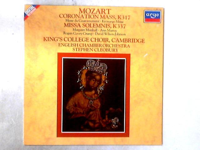 Coronation Mass, K.317 / Missa Solemnis, K.337 LP by Wolfgang Amadeus Mozart