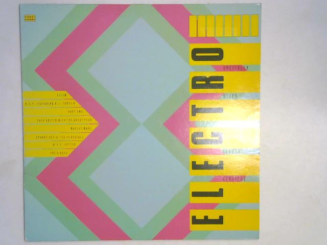 Street Sounds Electro 8 COMP LP by Various