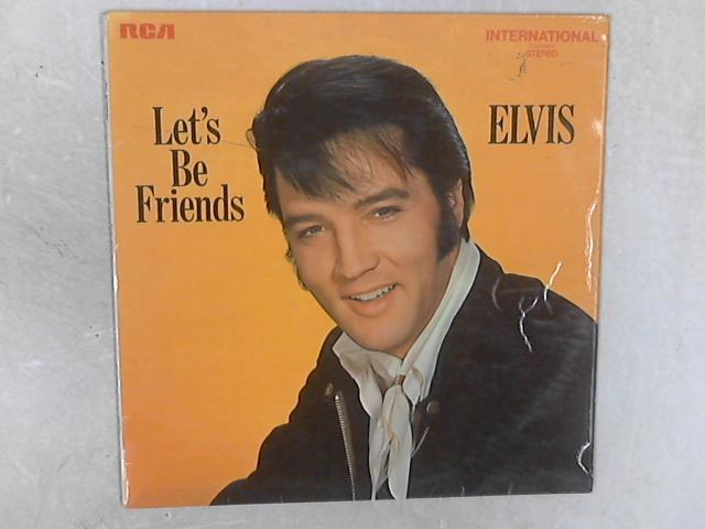 Let's Be Friends LP By Elvis Presley