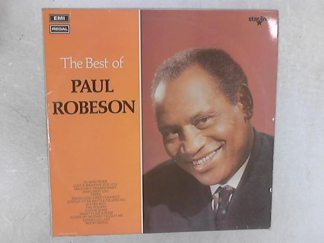 The Best Of Paul Robeson LP By Paul Robeson