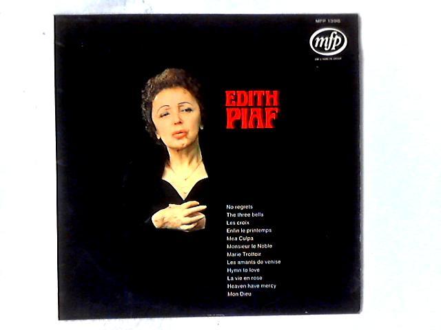 Edith Piaf LP By Edith Piaf