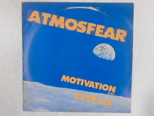 Motivation / Extract 12in Single By Atmosfear