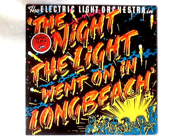 The Night The Light Went On (In Long Beach) LP GATEFOLD By Electric Light Orchestra