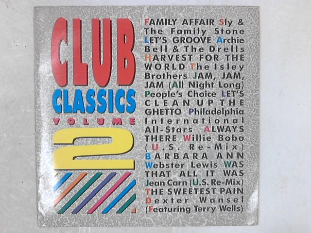 Club Classics Volume 2 COMP LP By Various