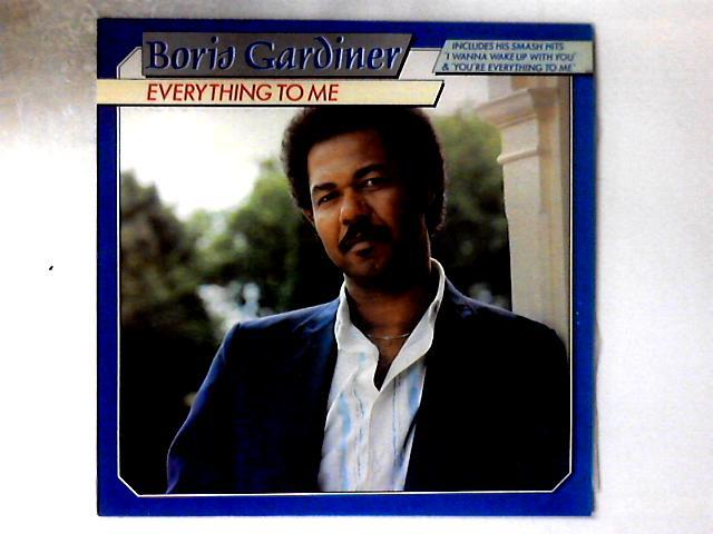 Everything To Me LP By Boris Gardiner