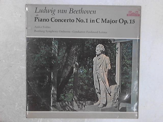 Klavierkonzert Nr. 1 C-dur Op. 15 LP By Ludwig Van Beethoven