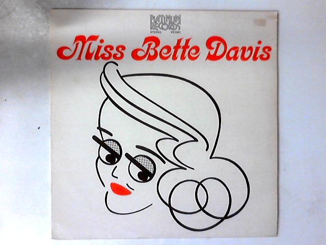 Miss Bette Davis LP by Bette Davis