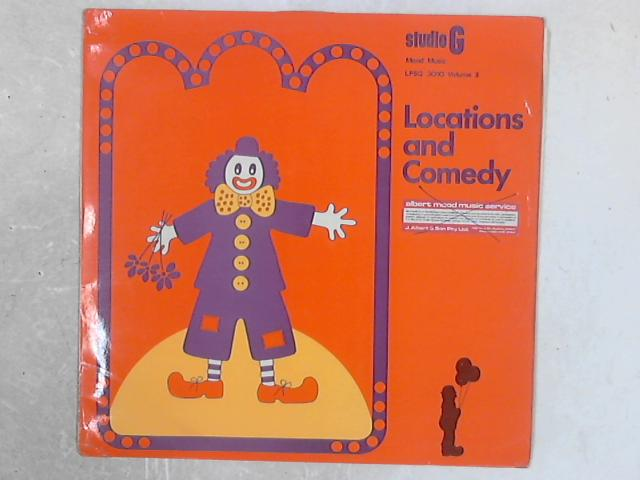 Locations And Comedy - Volume 1 LP By Various