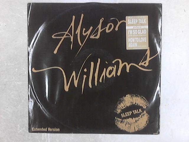 Sleep Talk 12in Single By Alyson Williams