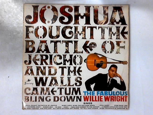 Joshua Fought The Battle Of Jericho LP By Willie Wright (2)