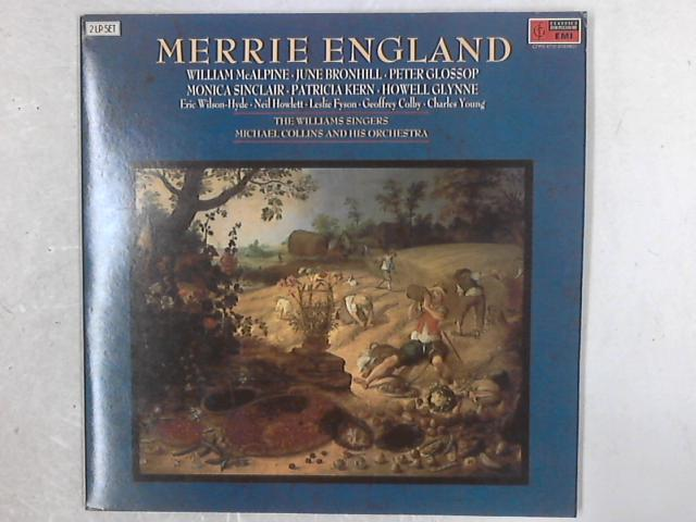 Merrie England 2xLP By Edward German