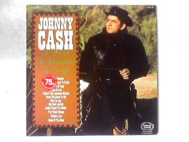 I Forgot To Remember To Forget LP COMP By Johnny Cash