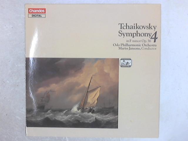 Symphony 4 In F Minor Op.36 LP By Pyotr Ilyich Tchaikovsky