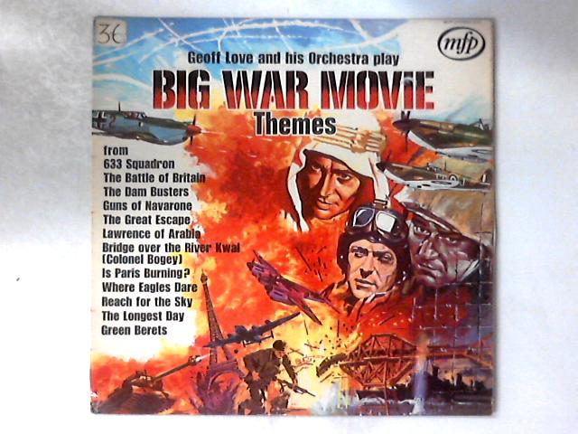 Big War Movie Themes LP By Geoff Love & His Orchestra