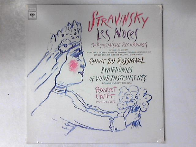 Les Noces / Chant Du Rossignol / Symphonies Of Wind Instruments LP SEALED by Igor Stravinsky