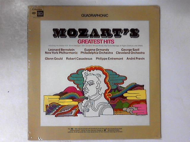 Mozart's Greatest Hits LP COMP SEALED by Wolfgang Amadeus Mozart