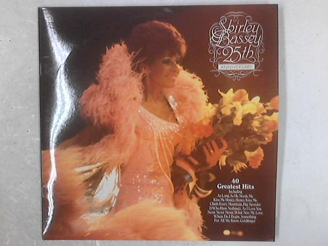 25th Anniversary Album 2xLP by Shirley Bassey
