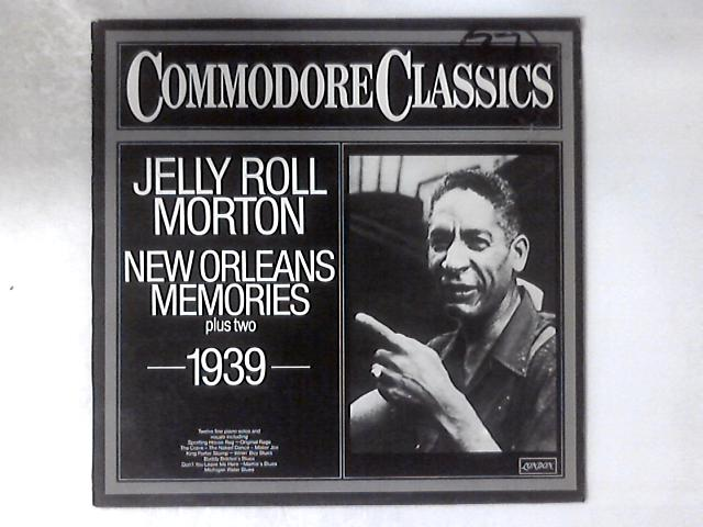 New Orleans Memories Plus Two - 1939 - LP by Jelly Roll Morton
