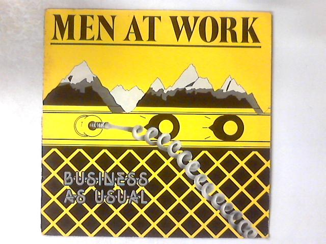 Business As Usual LP by Men At Work