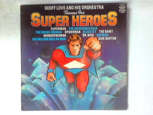 Themes For Super Heroes LP by Geoff Love & His Orchestra