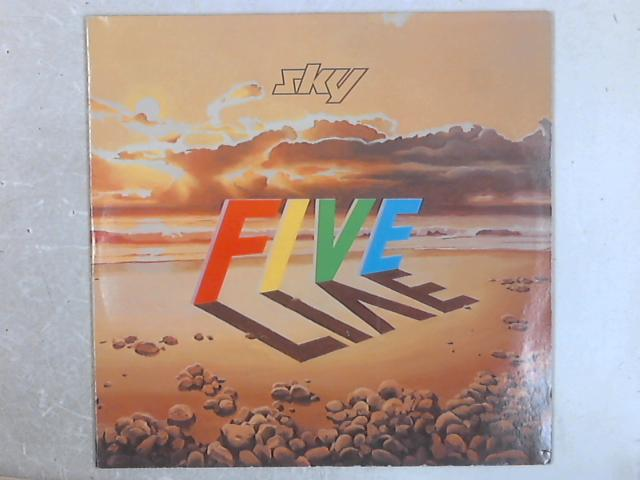 Sky Five Live 2xLP By Sky