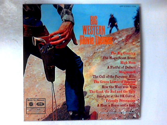Big Western Movie Themes LP By Geoff Love & His Orchestra