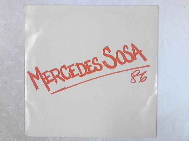 Mercedes Sosa '86 LP By Mercedes Sosa