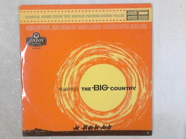 The Big Country OST LP By Jerome Moross